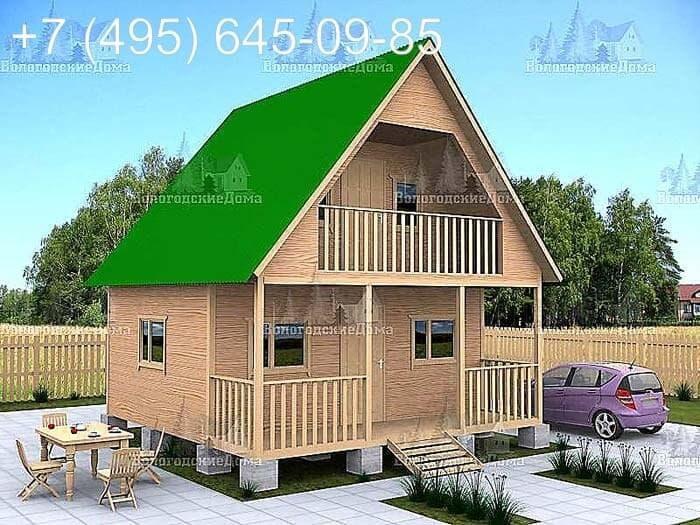Дешевые каркасные дома