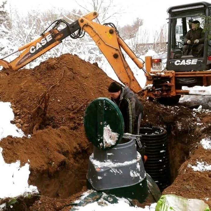 Внешняя канализация