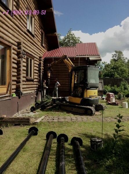 Пристройка веранды к дому на винтовых сваях