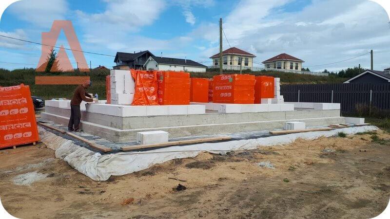 Строительство на плитном фундаменте – лучшее решение