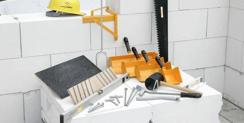 Основные инструменты для кладки