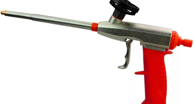 Монтажный пистолет – единственный инструмент для клей-пены