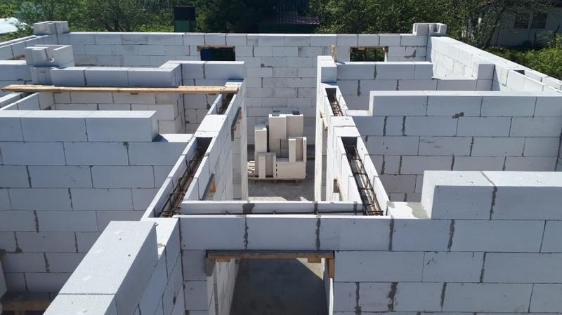 Перемычки из перегородочных блоков