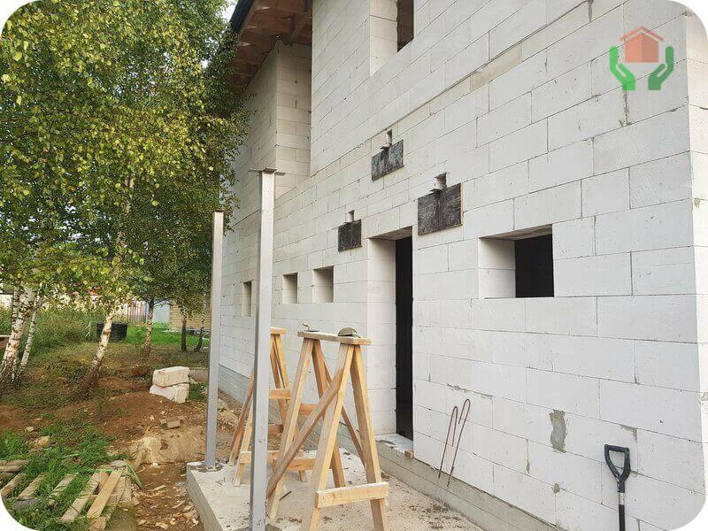Стены готовы, можно гидрофобизировать
