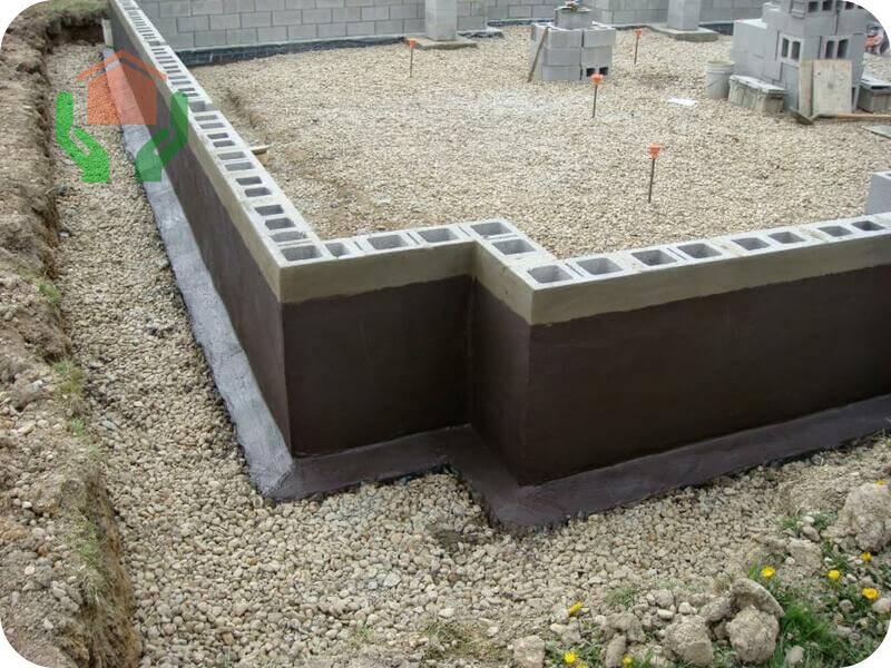 Фундамент для одноэтажного дома из газобетона на глиняном грунте