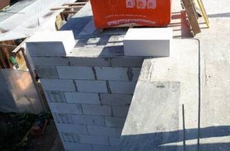 Многое зависит от качества купленных блоков