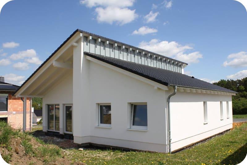 Строительство дачного дома из газобетона в скандинавском стиле