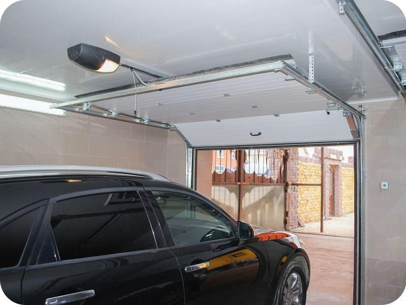 Высоту гаража определяет тип навесного оборудования ворот