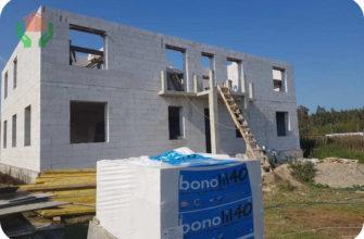 Газобетонные блоки д500 подойдут для строительства двухэтажного дома