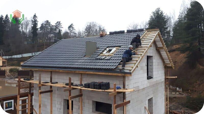Дом из газоблоков – завершение строительства