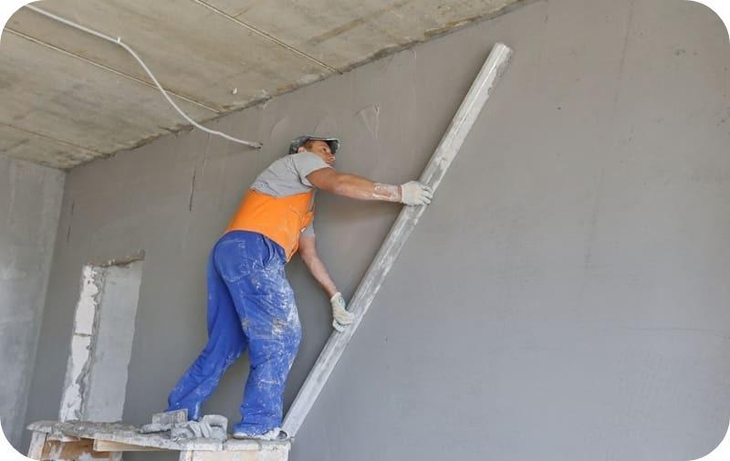 Оштукатуривание газоблочных стен