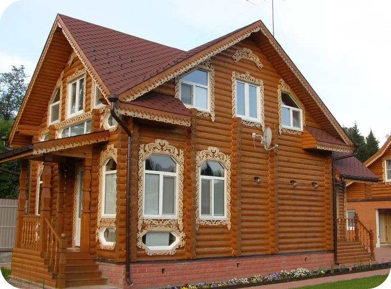 Эстетика деревянного дома