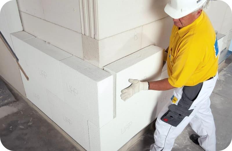 Утепление газосиликатных стен теплоизоляционным газобетоном