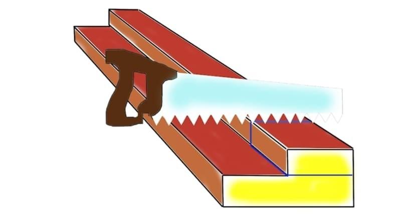 Крепление элементов коробки