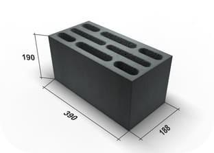 Стандартные размеры керамзитоблока