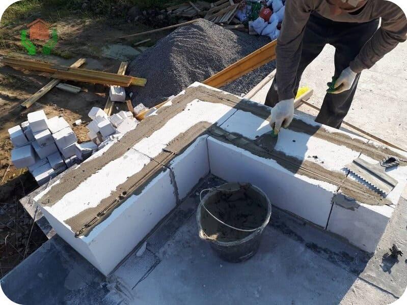Конструкционное применение газоблоков