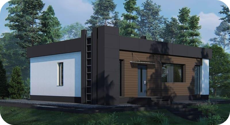 Фасад дома Windows Villa