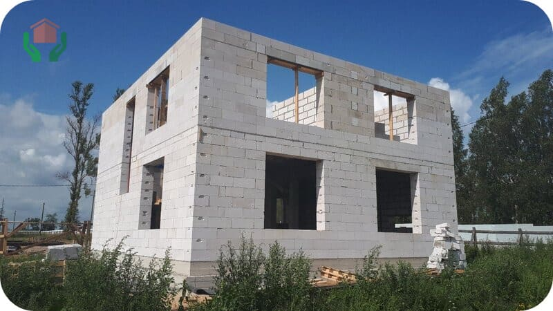От веса стенового материала зависит нагрузка на фундамент