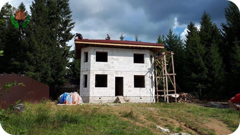 Дом готов и ждёт отделки