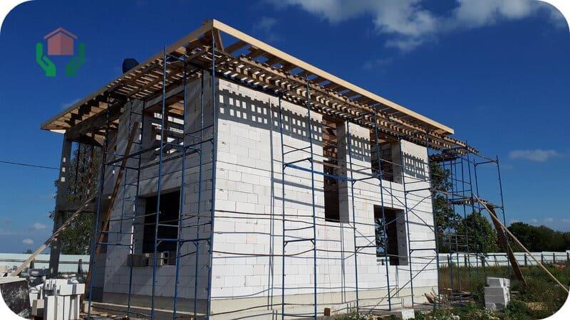 В проектируемом строительстве применяется только автоклавный газобетон