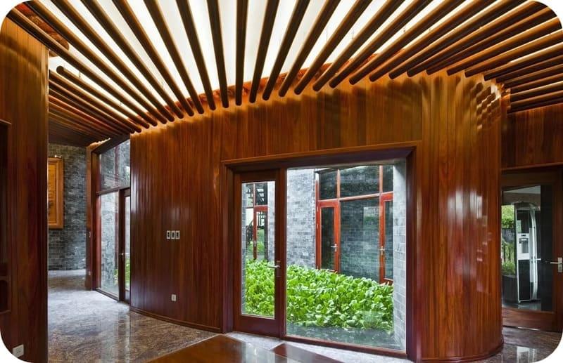 Планкен в дизайне интерьера