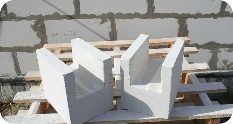Самодельные П-блоки, вырезанные сабельной пилой