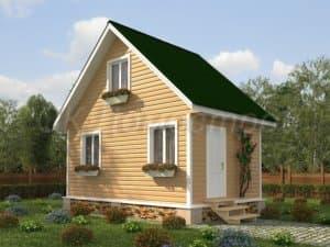 дачный дом 6х4