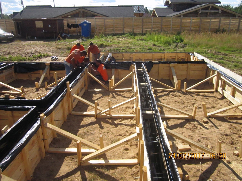 Армирование фундамента - 120 фото укрепления бетона при укладке фундамента
