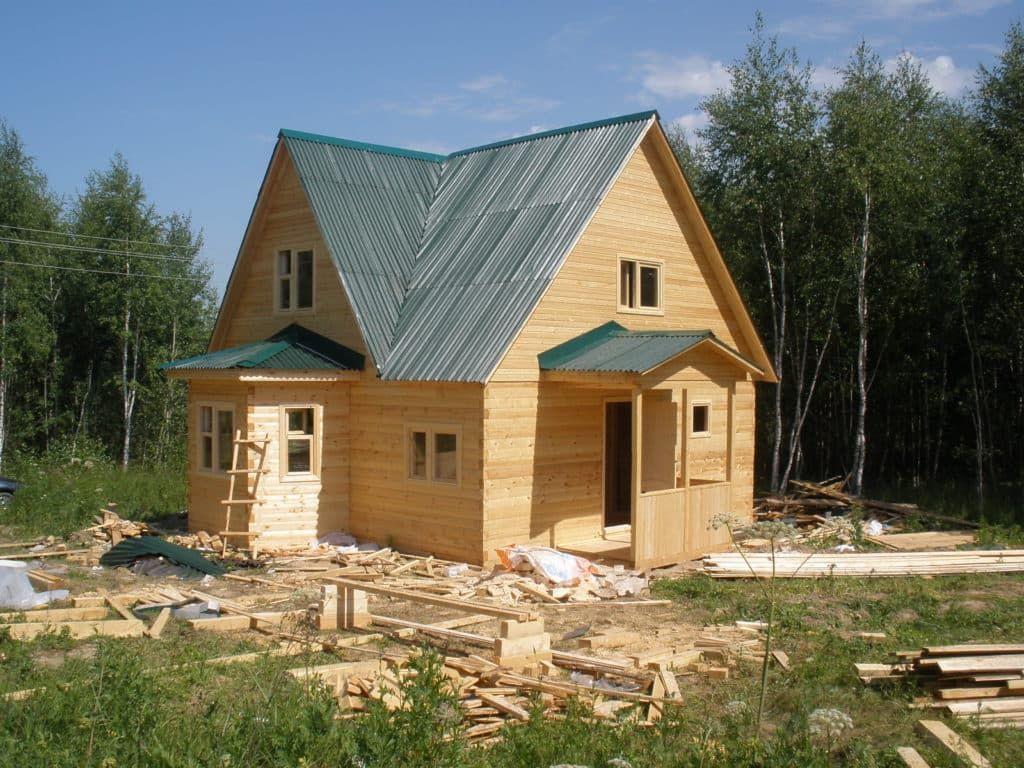 Каркасный или брусовой дом