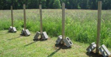 деревянный столб для забора
