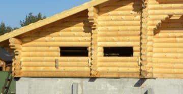 какой фундамент лучше для дома из бруса