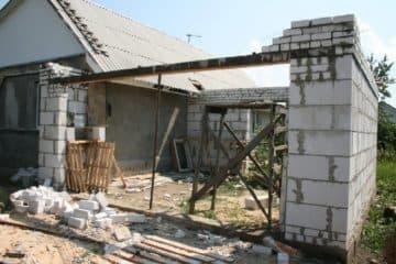 пристроить гараж к дому