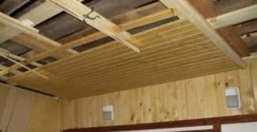 из чего сделать потолок на веранде