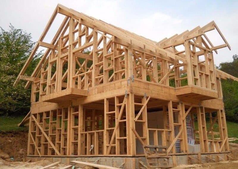 как я строил каркасный дом