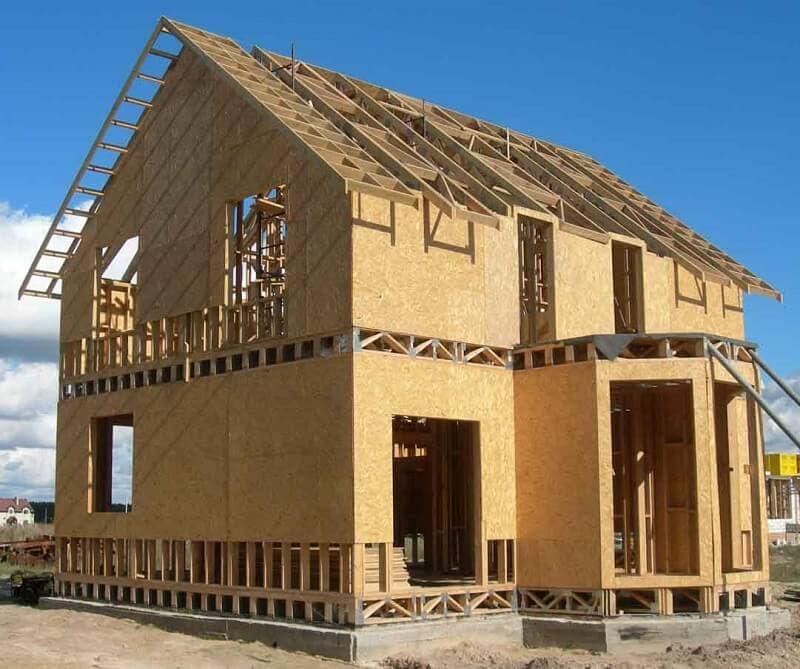 каркасно щитовые дома: дешево под ключ