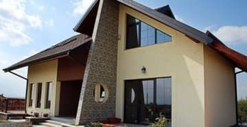 Каркасный дом из бруса