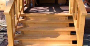 лестница на веранду