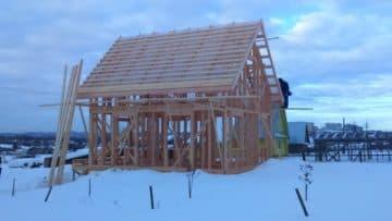 можно ли строить дом зимой каркасный