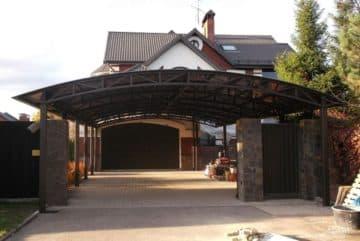 Строим крыша гаража своими руками 172