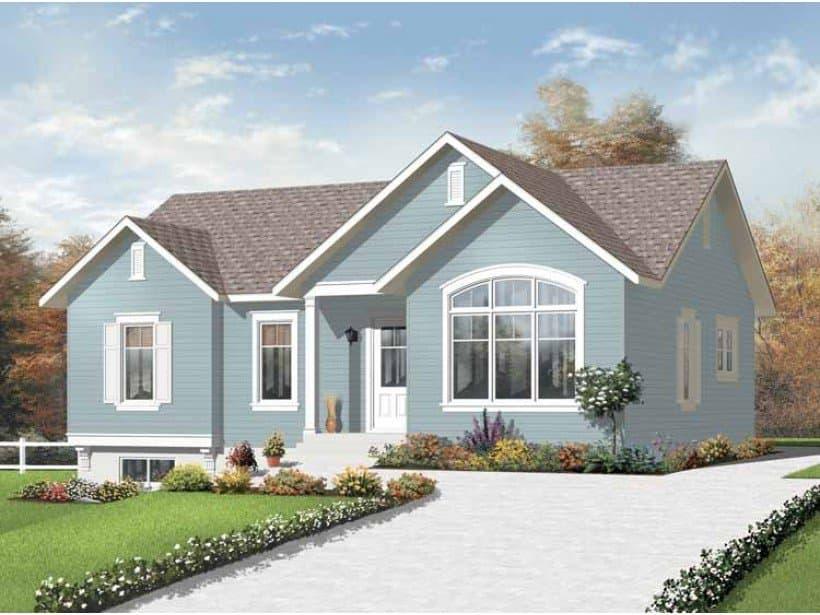 """Одноэтажный дом в стиле """"прованс"""""""