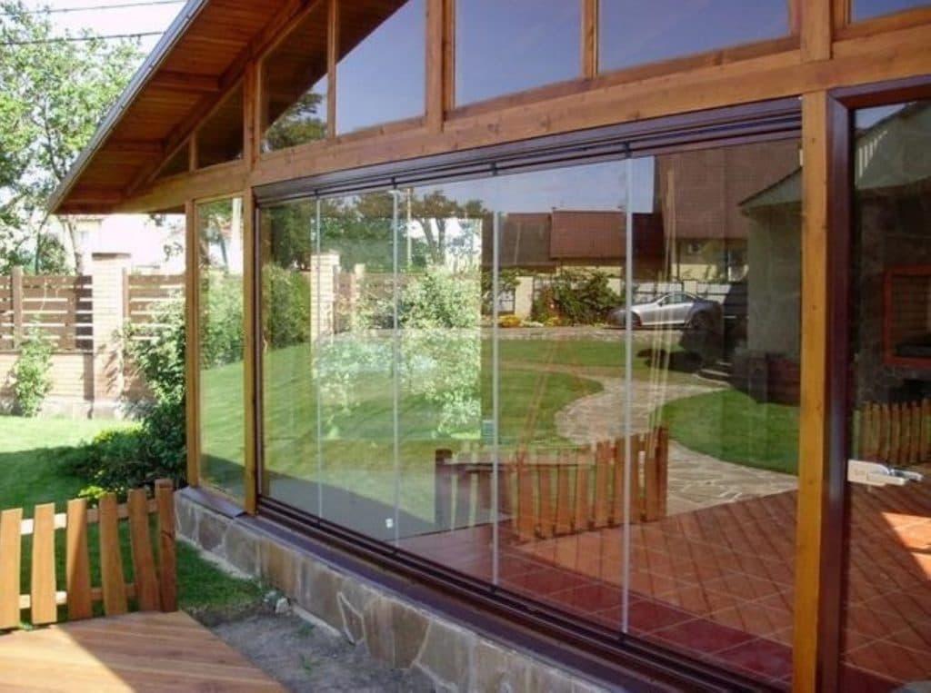 окна из поликарбоната для веранды
