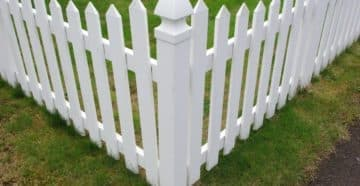 пластиковый забор