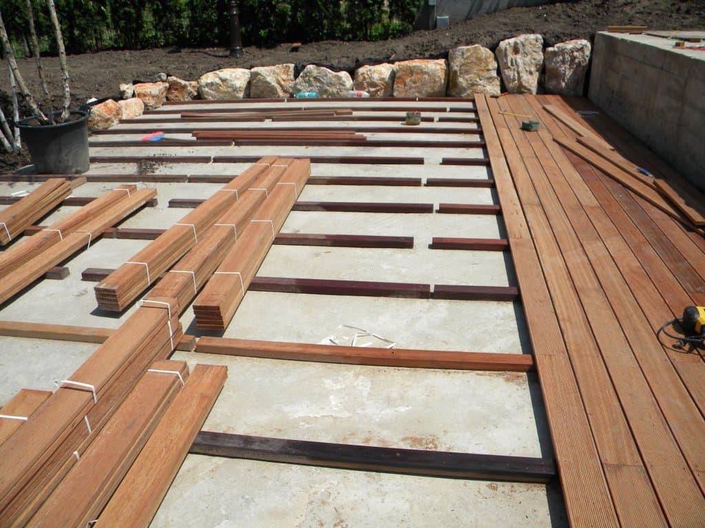 Деревянный пол для террасы своими руками фото 851