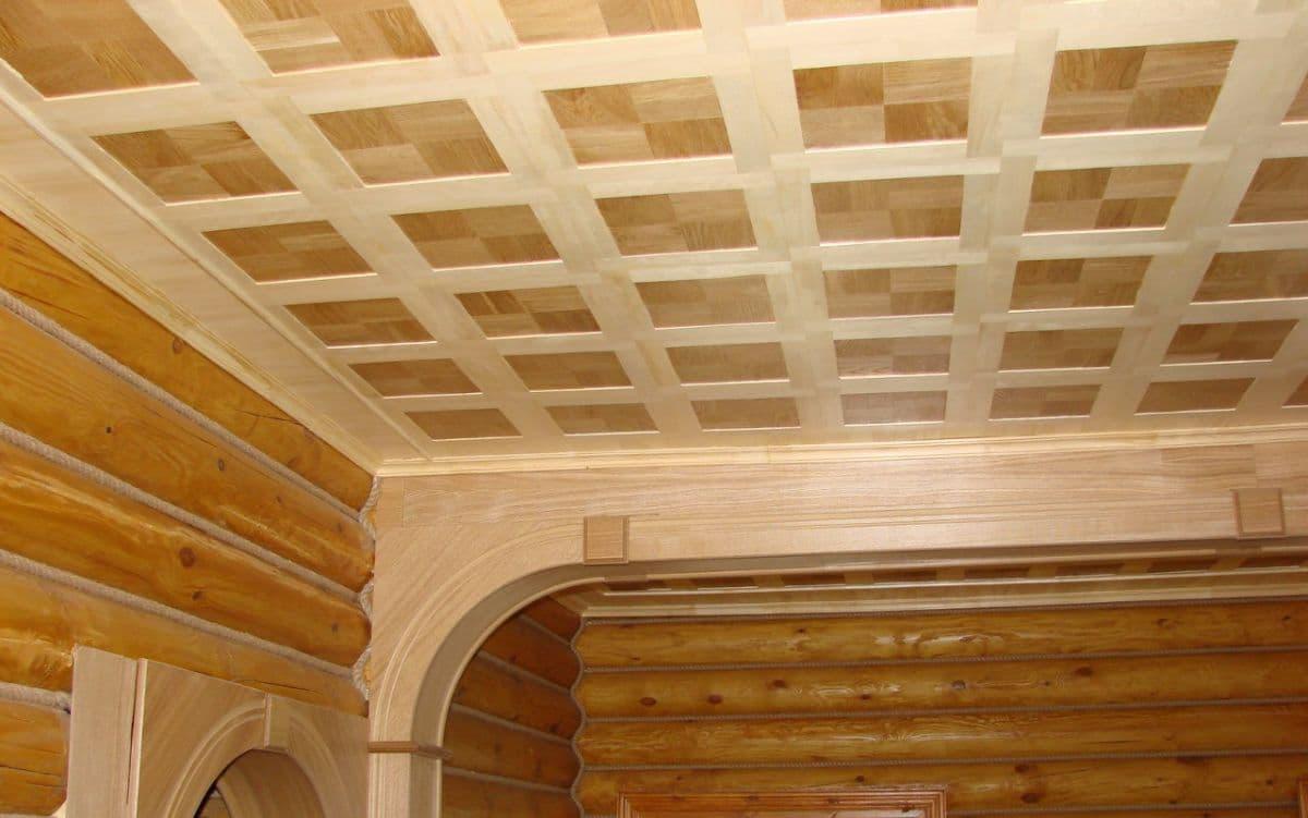 Потолок в частном доме своими руками (80 фото как сделать самому) 50