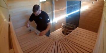 пропитать древесину изнутри бани