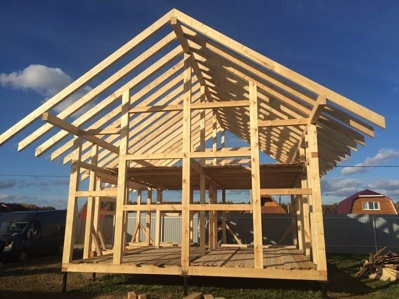 сколько стоит построить каркасный дом под ключ