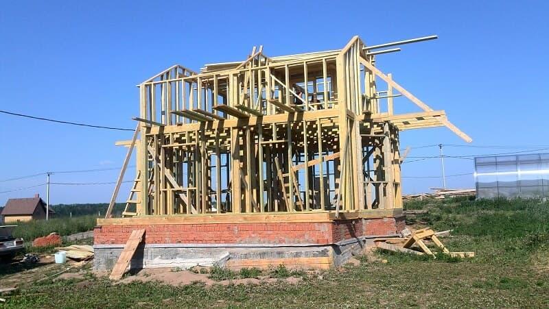 каркасный дом строим сами