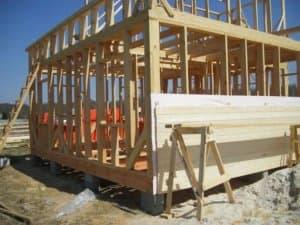 как правильно строить каркасный дом