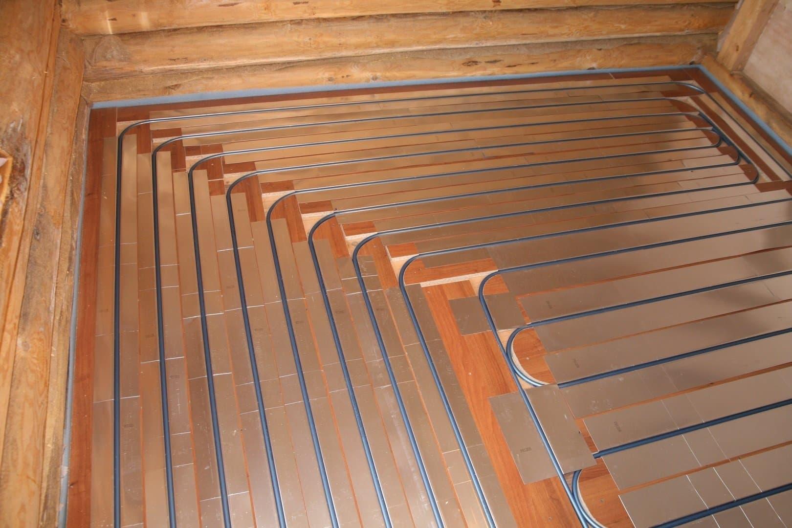 Как сделать водяные тёплые полы в деревянном доме своими руками фото 844