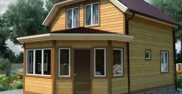Веранда - украшение дома